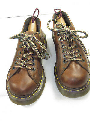 Men's Dr MARTENS 4 eyelets 2 D ring chunky walk comfy play oxford  size 6  (4 Eyelet 2 D-ring)