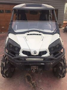 2013 Canam commander 1000 limited for sale