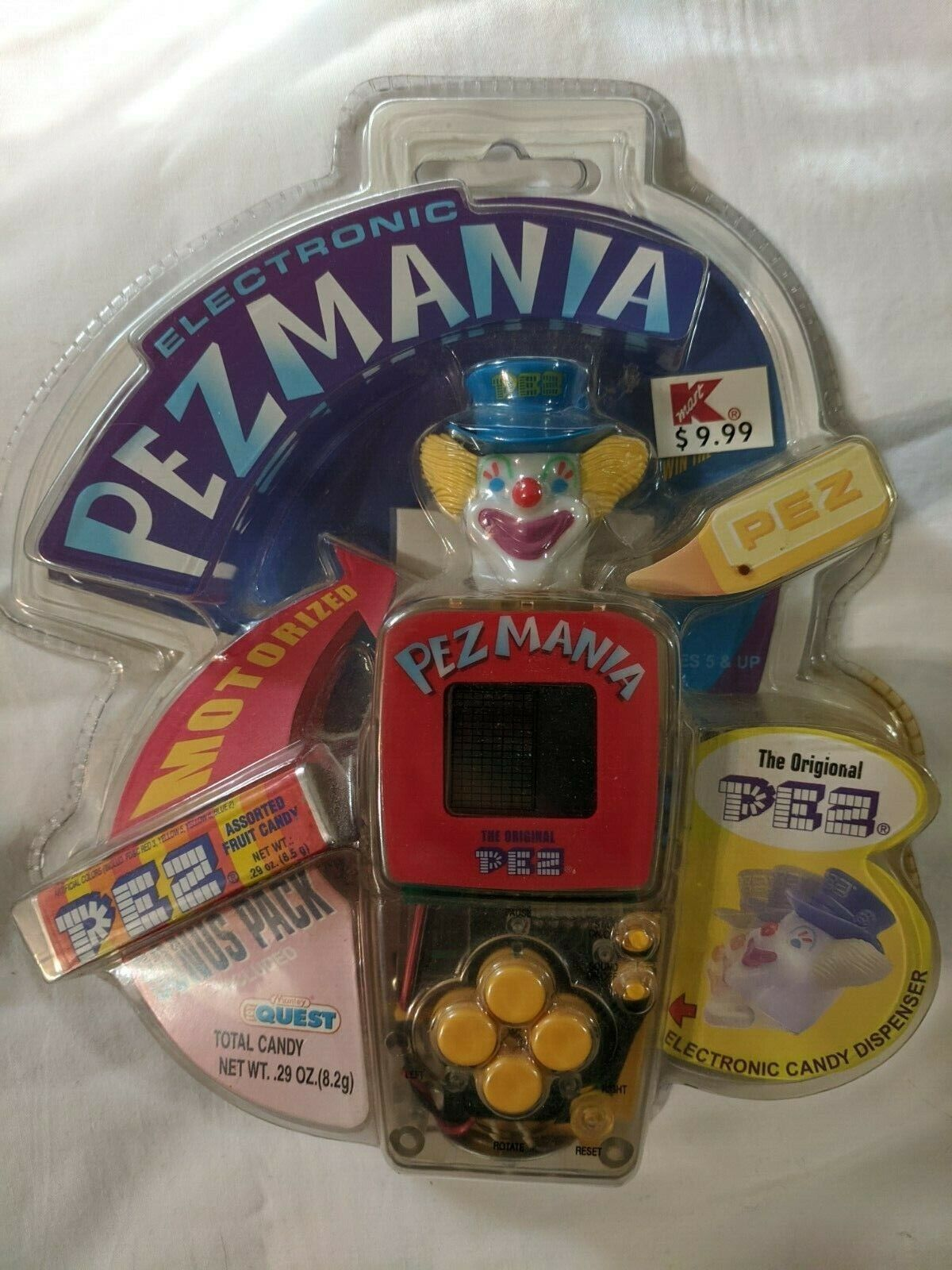 Pezmania Electronic Game Mint In Package - $14.99