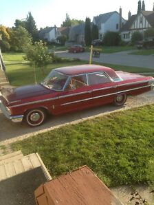 Great winter project 1963 Ford Galaxie 500