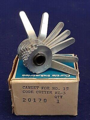 Curtis Model 15 Key Code Cutter Clipper Mazda Mz-3 Cam 7 Cut Orig Box Mint Cond