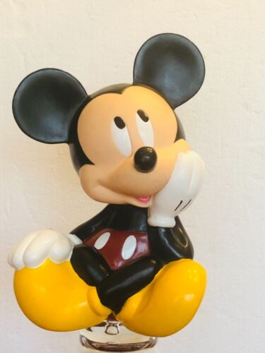 Vintage Applause Disney Mickey Mouse Plastic Piggy Coin Bank