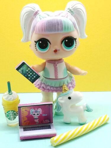🎀 LOL SURPRISE ACCESSORIES *Inspired in Unicorn*5 Pieces LOT~ Custom Starbucks