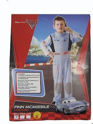 Disney Cars2 Finn McMissile Anzug Kostüm Gr 122 7-8 J Fasching Karneval McQueen