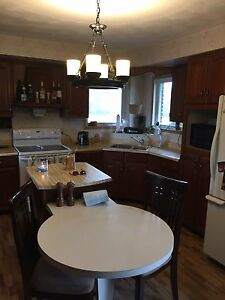 Kitchen cabinets, solid wood (cherry)