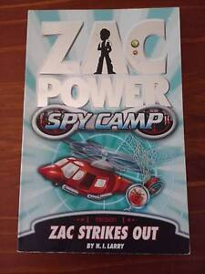 Zac Power Books 4- Good Condition - $4 each - See my other ADS Boronia Heights Logan Area Preview