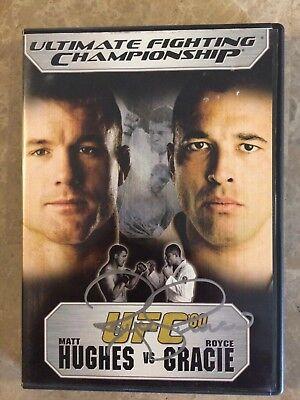 Royce Gracie Signed UFC 60 Hughes vs Gracie DVD