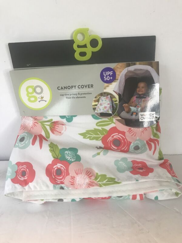 Canopy Cover GO Goldbug Floral Carseat Cover Baby Carrier Nursing Cover Fre Ship