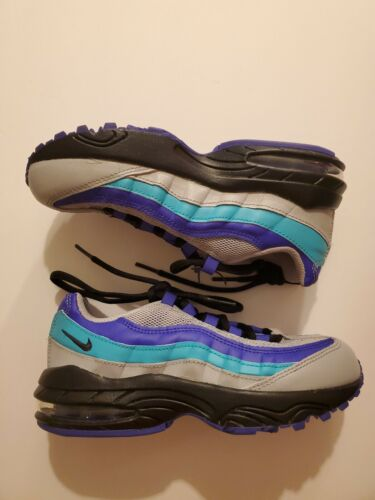 NIKE AIR MAX 95 Boy's Kids Sneakers Shoes 11c WOLF GREY INDI
