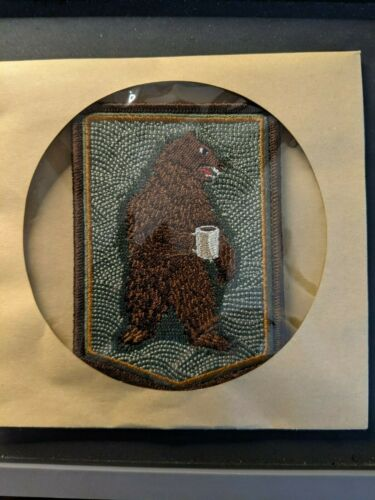 PDW Prometheus Design Werx Morning Bear Morale Patch Sold Out Limited Edition!