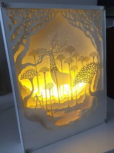LED lighting frame night light