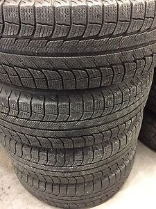 4 Michelin Latitude X-Ice XI2 Snow Tires. Cambridge Kitchener Area image 1