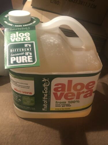 Organic 99.8% Pure Aloe Vera Juice From Inner Gel Fillet 128