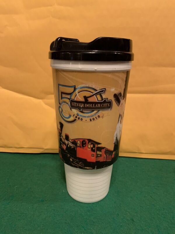 2010 50th Anniversary Silver Dollar City Grandfathered Refillable Mug