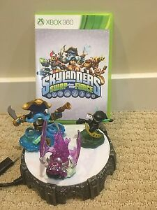 SkyLanders Swap Force Xbox 360 game with figures