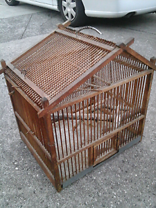 Timber bird cage. Very decorative. Mill Park Whittlesea Area Preview