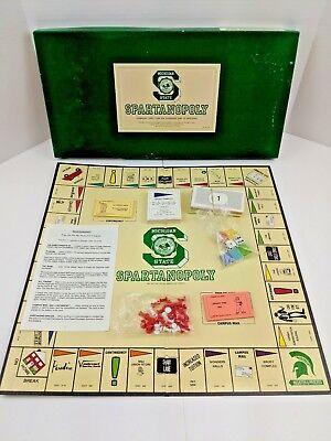 Michigan Board (Spartanopoly Michigan State University Board Game Spartans Complete 4th Ed. 1987)