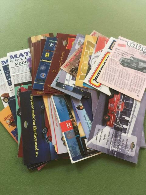 Matchbox Collectibles Cataloges, Brochures and Magazines