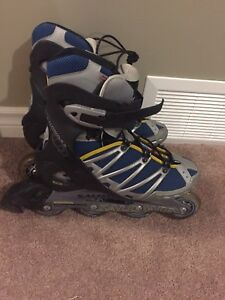 Salomon men's size 9 rollerblades