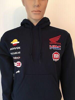 2018 Honda Team Dani Pedrosa #26 MotoGP Mens Hoody Hoodie Official Sizes S-XXL