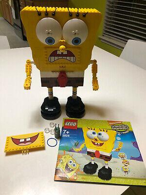 Lego Spongebob Squarepants 3826 Build A Bob, Complete w Manual, Plankton