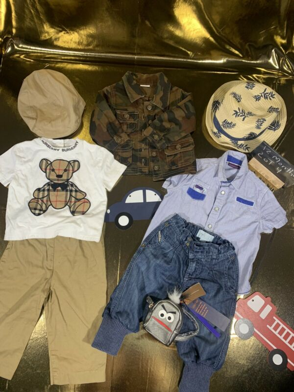12 Month Baby Boy Name Brand Lot Burberry & Other Brands