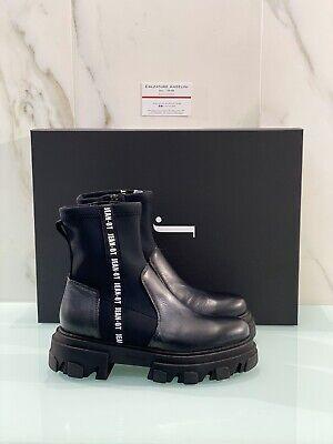 Jeannot Amphibious Woman 75321 in Black Leather Fashion Shoe Jeannot Woman 38