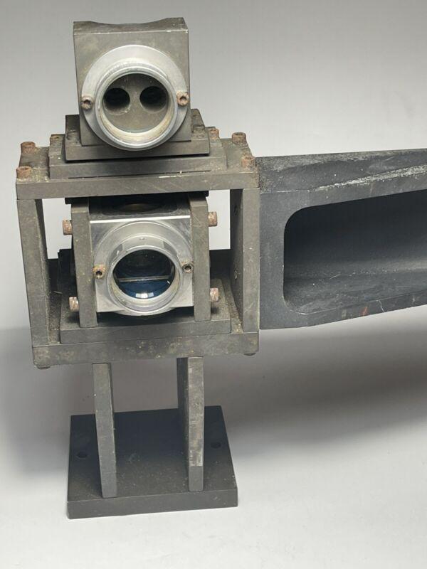 Hewlett-Packard 10722A Plane Mirror Convertor, 10703A Retroreflector 10780A Rec.