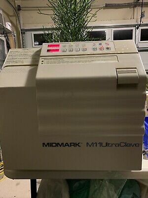 Midmark M11 Ultraclave Automatic Steam Sterilizer Autoclave M11-002 24.6l Tray