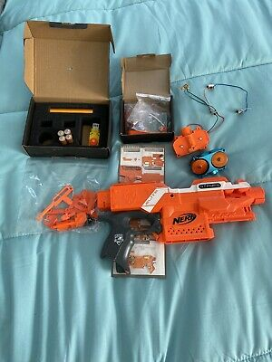 Nerf Stryfe With Worker Flywheel And Full Auto Kit (Batteries Included)