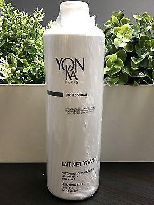 YONKA LAIT NETTOYANT CLEANSER 16.9 OZ/ 500 ML YON-KA PRO PROFESSIONAL SALON SIZE