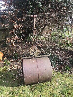Garden Metal Ornament Lawn Roller