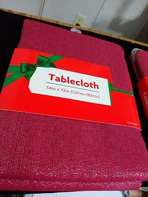 Midwood, Table Cloth Burgundy 54
