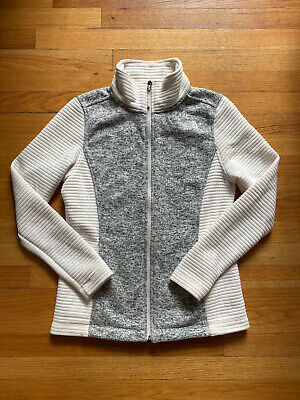 The North Face Women's Medium M Gray & Ivory Indi Jacket
