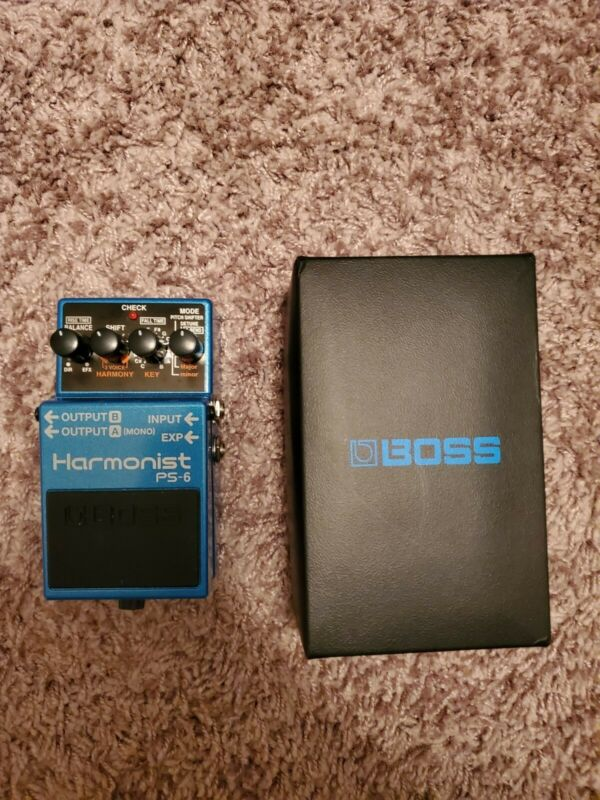 Boss PS-6 Harmony Guitar Effect Pedal