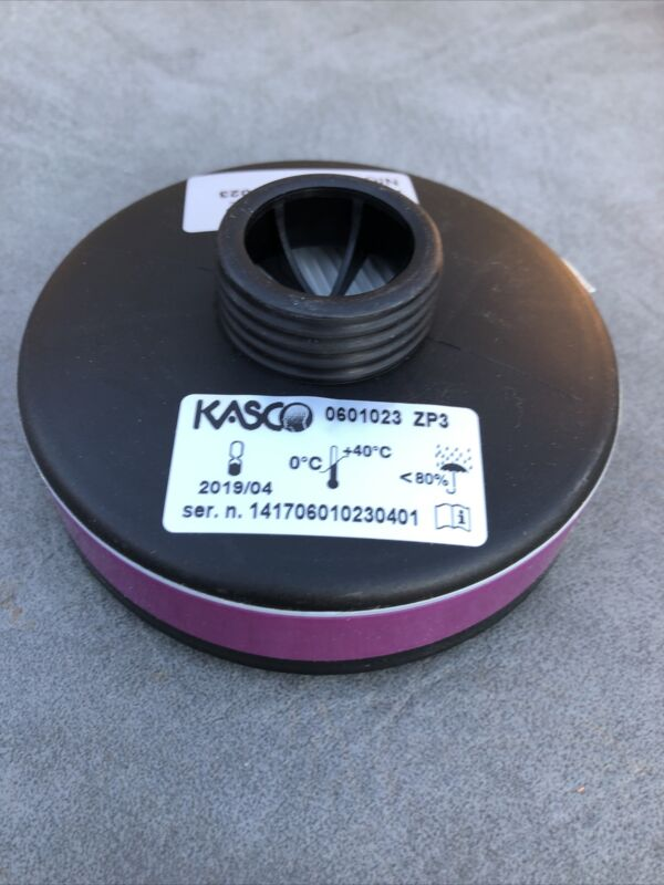 New Respirator Replacement KASCO  ZP3 Filters 2/Pack - EXP 4/2019