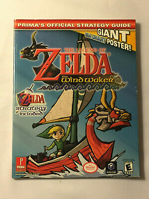 THE LEGEND OF ZELDA: THE WINDWALKER - 2003 Prima Paperback Strategy Guide