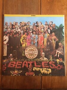 The Beatles SGT.Pepper's Lonely Hearts Club Band Lp
