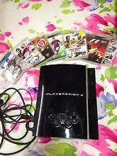 PS3  plus 7 games Fairy Meadow Wollongong Area Preview
