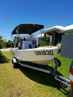 Aluminum Tinnie Boat swap or sell