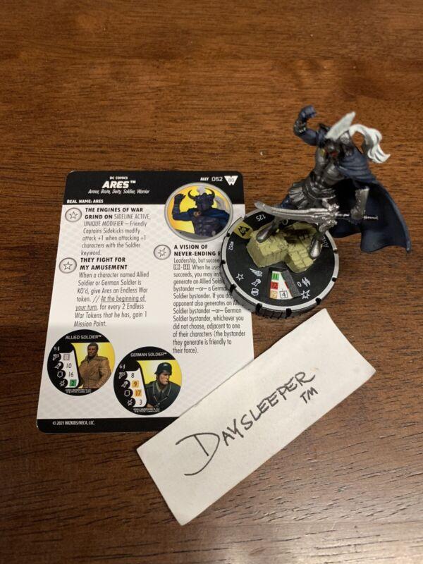 DC Heroclix Wonder Woman 80th Anniversary Ares 052 SR