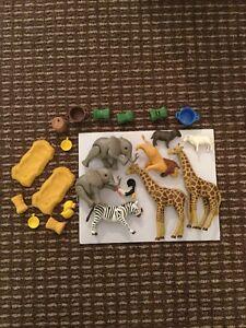 Playmobil wild zoo animals figures toys