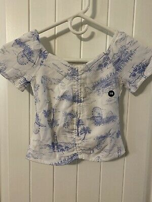 Abercromie Kids Girls Size 7/8 Top