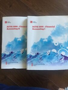 First Year Business Admin Textbooks - NSCC