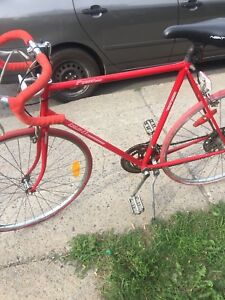 Red LX bicycle