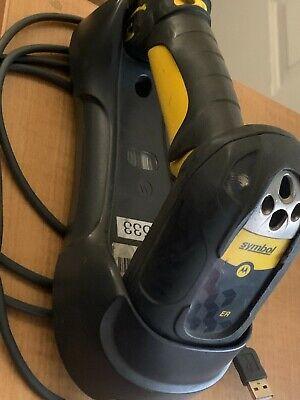 Motorola Symbol Ls3578-er20005wr Barcode Scanner Base And Cable