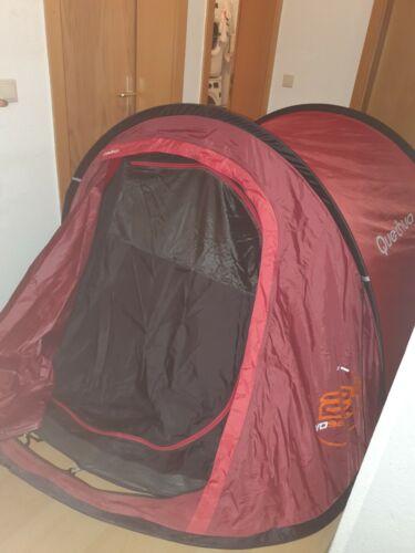 Wurfzelt quechua 2 Seconds 2 Personen XL Campingzelt Pop UP Zelt Strand Festival