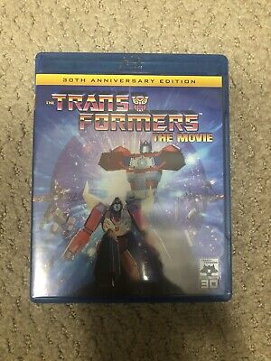Transformers: The Movie (Blu-ray Disc, 2016, 30th Anniversary Edition)