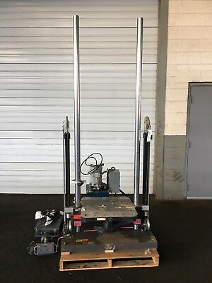 Mts Impac 2424 Mark 2 Shock Test Machine Impact Shock Testing System Astm Mil