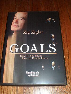 ZIG ZIGLAR Goals: How to Set Them, How to Reach Them (6 CD Set) UNABRIDGED